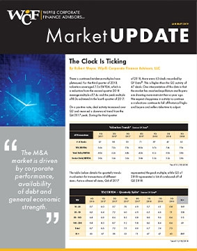 Market Updates - Wipfli Corporate Finance Advisors